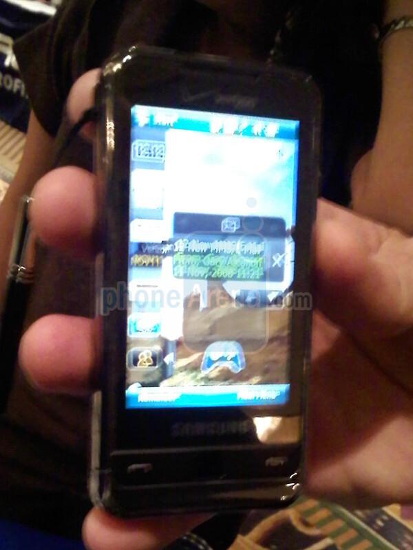 Samsung OMNIA - Verizon Tech Tour - Fall and winter lineup