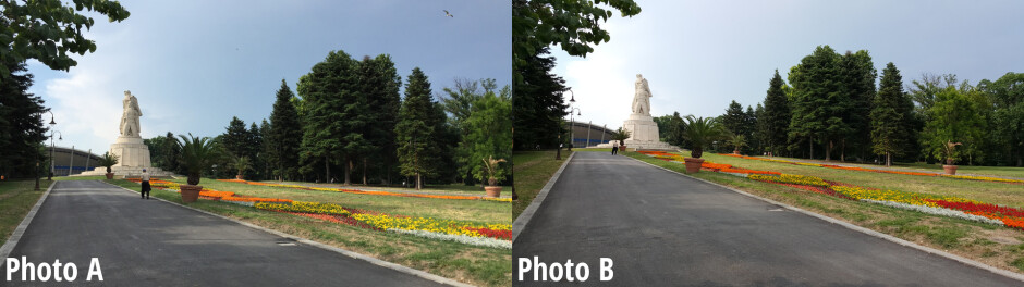 Side-by-side comparison - Samsung Galaxy S6 vs iPhone 6 blind camera comparison: vote for the better phone
