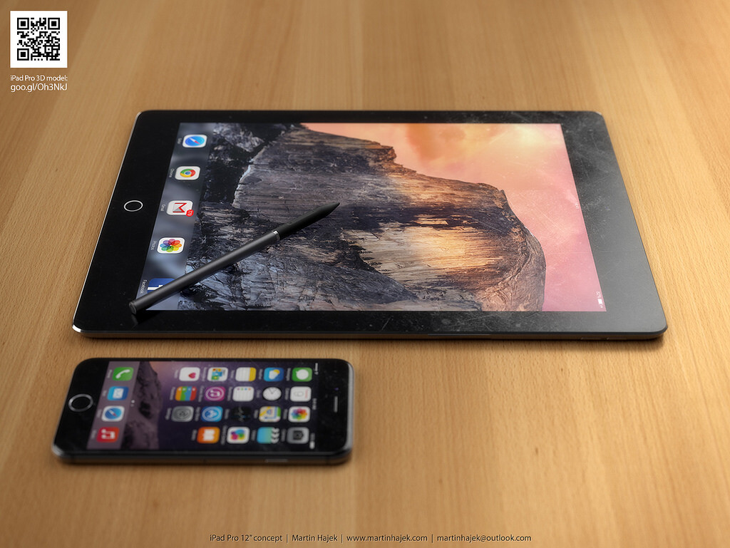 Apple Concept Video Apple Ipad Pro Concept by