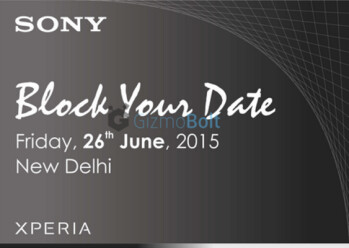 The Sony Xperia Z3+ will be unveiled in India on June 26th