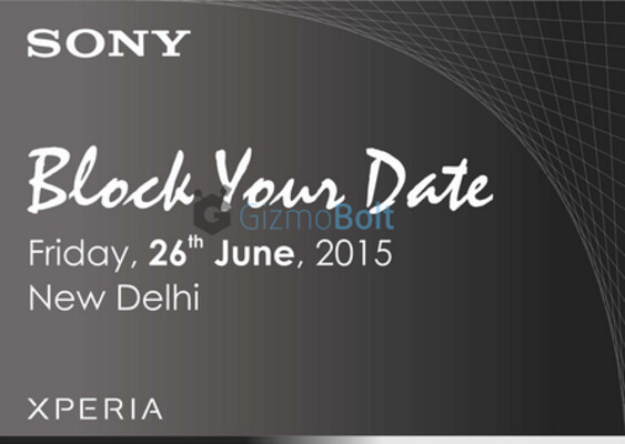 The Sony Xperia Z3+ will be unveiled in India on June 26th - Sony Xperia Z3+ to be unveiled in India on June 26th?