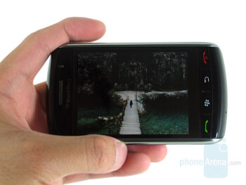 Hands-on with BlackBerry Storm