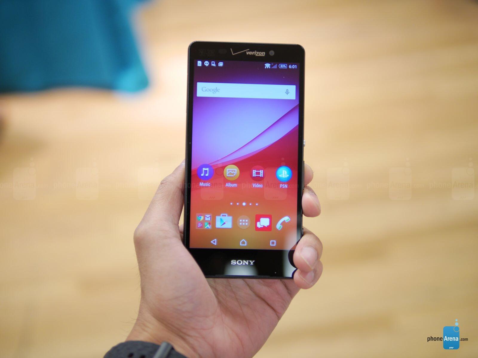 Sony xperia z4v smartphone - ab