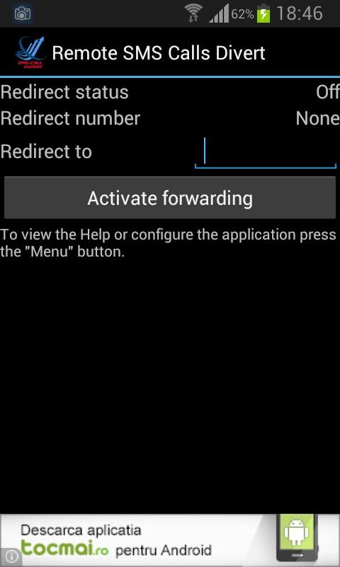 Sms Call Forward Divert
