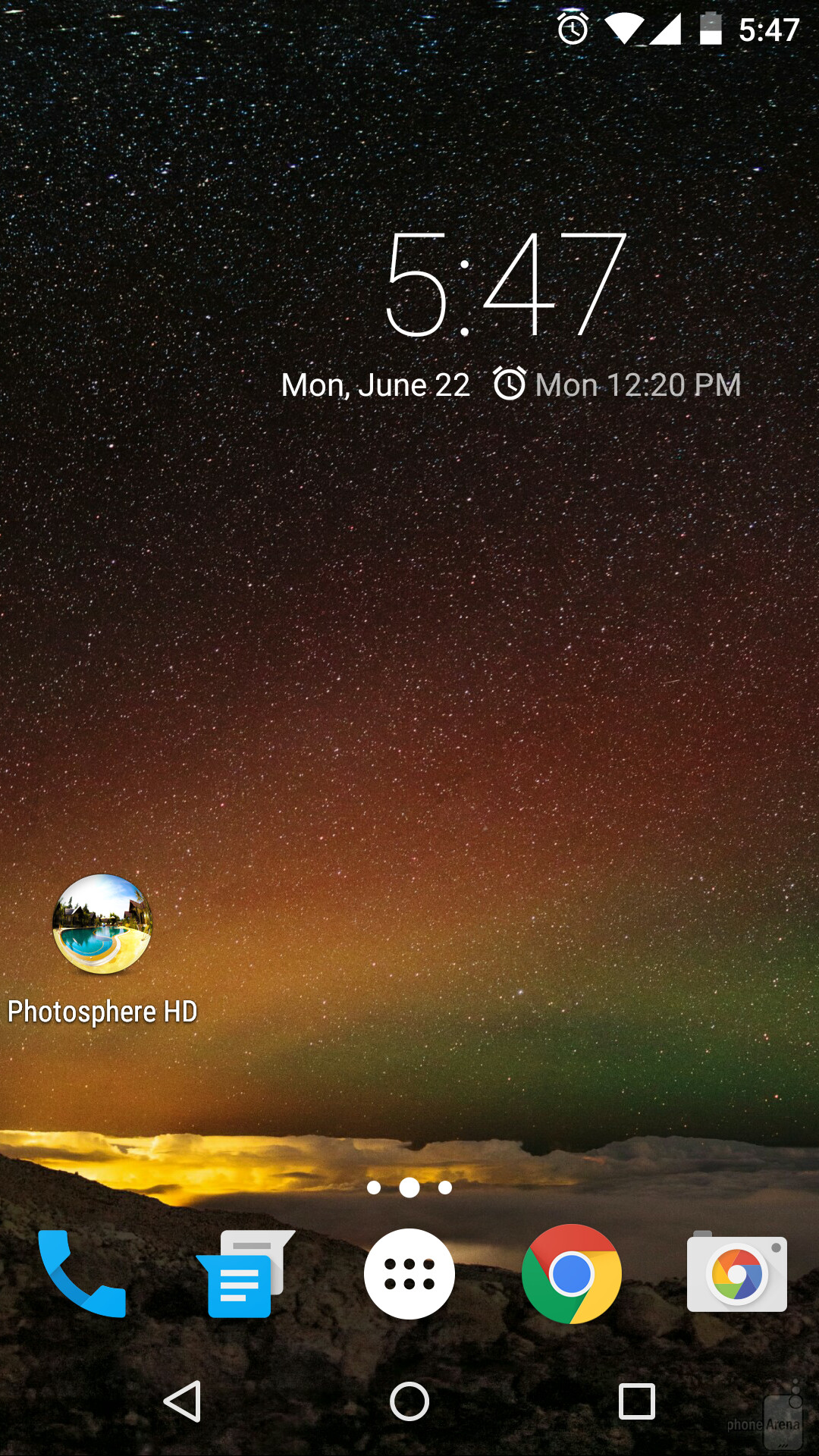 Assuming you've already downloaded Photosphere HD Live Wallpaper, you'll  obviously have
