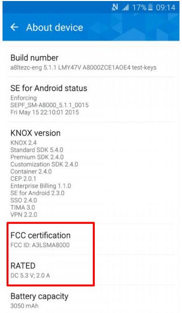 Samsung Galaxy A8 (SM-A8000)