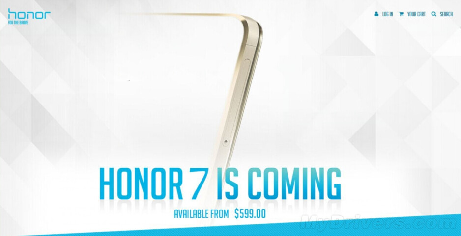 The Huawei Honor 7 may bear a surprisingly hefty price tag