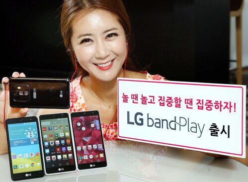The LG Band Play
