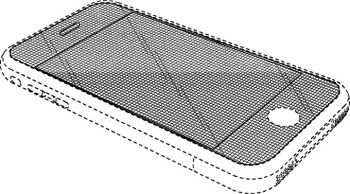 Apple patent filing for a phone with curved display