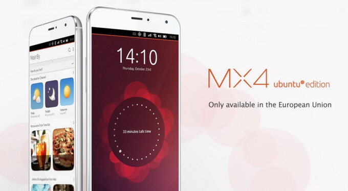Meizu MX4 Ubuntu Edition lands in Europe, you'll need an invite to get one