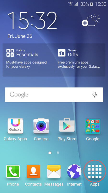 how to get google assiatany on s6