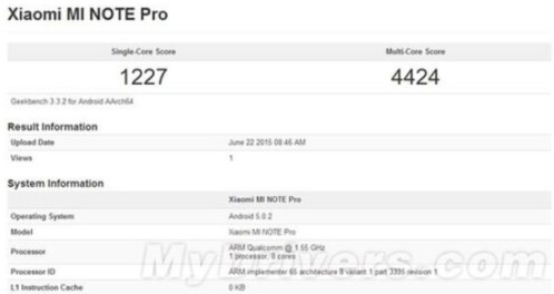 The Snapdragon 810 SoC is benchmarked