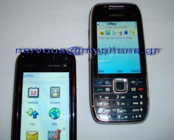 Nokia E75 appears in new spy photos