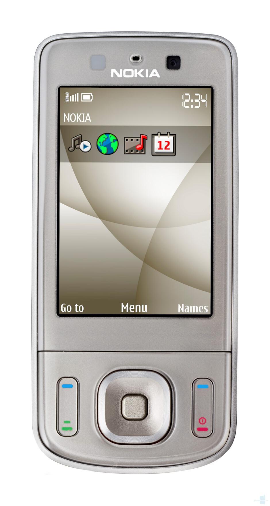 Nokia announces the 6260 slide