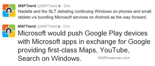 Microsoft to drop Windows Phone for Android?