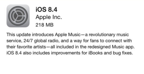 With iOS 8.4 being pushed out OTA, users receive a new Music app containing Apple Music