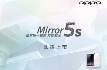 Oppo's stylish Mirror 5s Android smartphone is officially coming soon