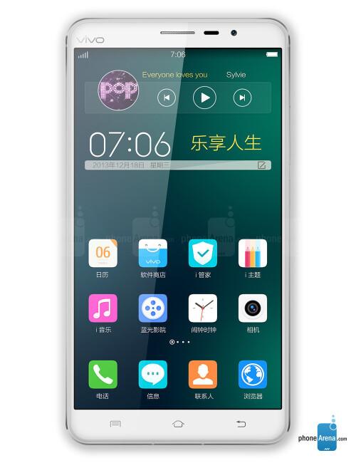 Quad HD display (1440p) - Vivo XPlay 3S