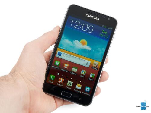 HD display (720p-800p) - Samsung Galaxy Note