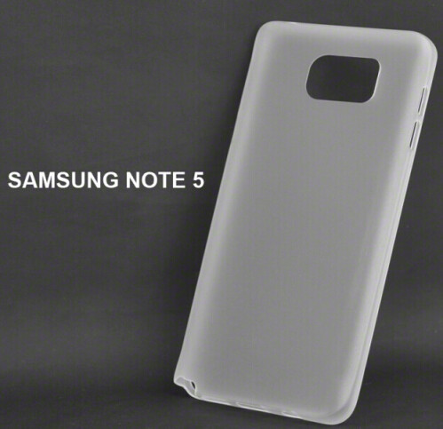 Case for the unannounced Samsung Galaxy Note 5