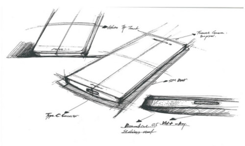 OnePlus 2 alleged design sketches