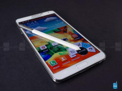 3GB of RAM - Samsung Galaxy Note 3