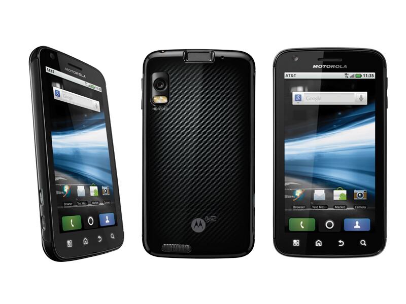 1GB of RAM - Motorola Atrix 4G