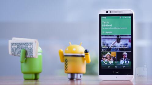 64-bit quad-core chipset - HTC Desire 510