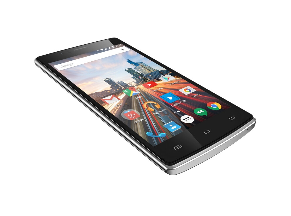 snapdragon powered archos 50d helium runs android 5 1 lollipop costs 129. Black Bedroom Furniture Sets. Home Design Ideas