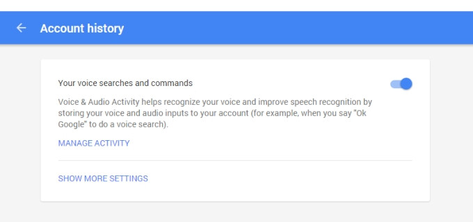 How to view and delete your Google Voice Search history