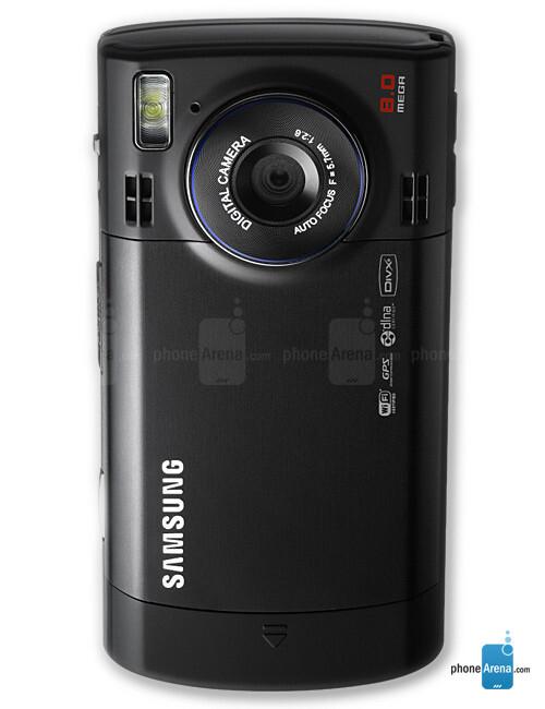 8MP rear camera - Samsung i8510 INNOV8