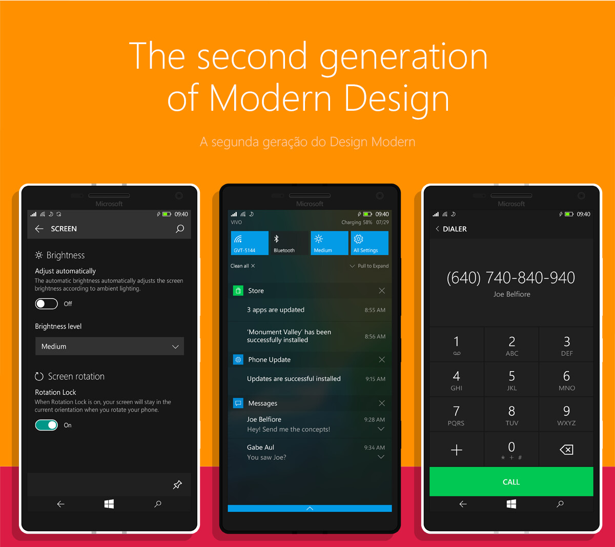 polished windows 10 mobile concept hints at the final build