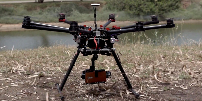 LG straps the G4 to a drone. The result? A stunning video promo