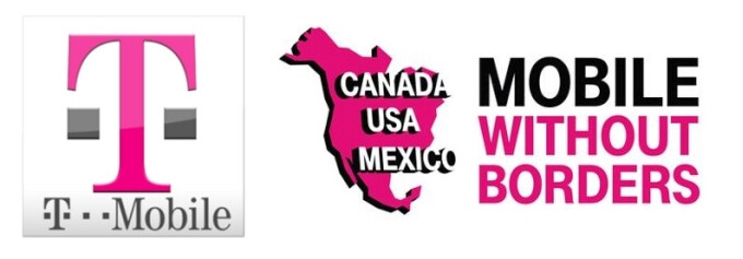 T-Mobile's Mobile Without Borders initiative brings free roaming services in Canada and Mexico