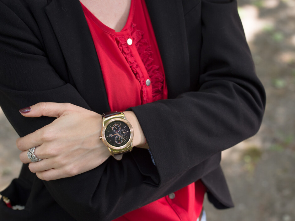 The LG Watch Urbane is a stylish timepiece, although its design might not appeal to ladies - H1 2015 in review: Best smartwatches