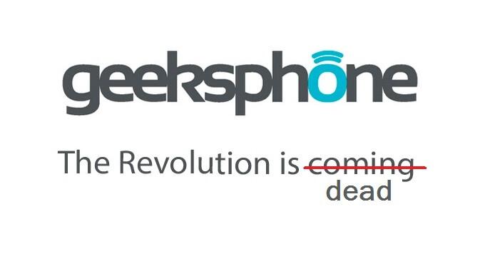 Blackphone co-creator Geeksphone calls it quits in the smartphone market
