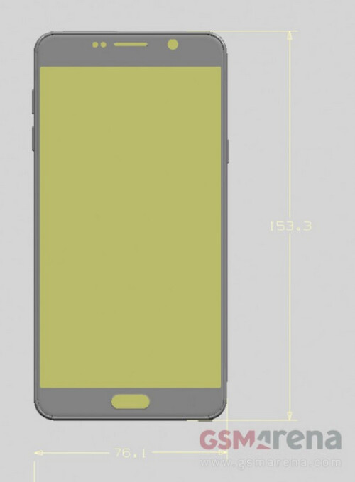 Samsung Galaxy Note 5 renders and leaked images