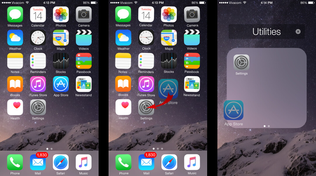make a folder on iphone how to create rename and delete folders on an iphone or 6476