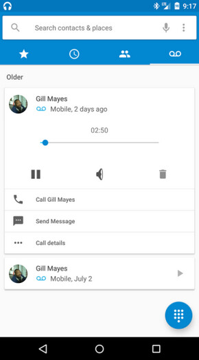Visual Voicemail on Android M - Visual Voicemail coming to some carriers with Android M