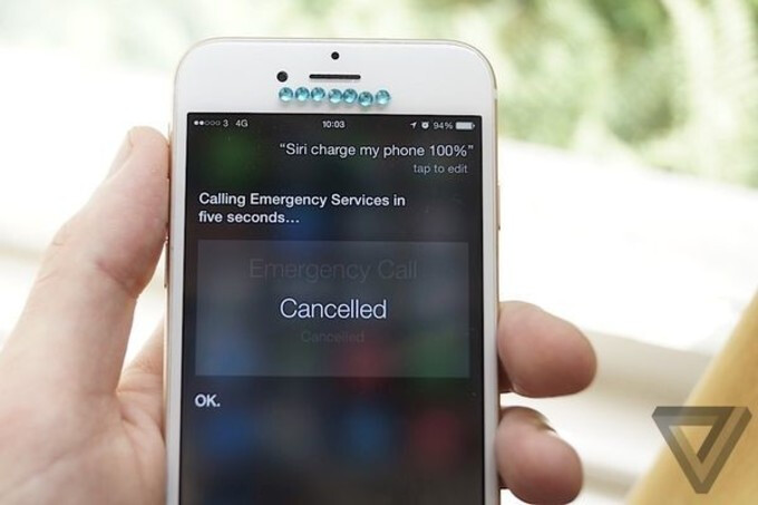 A bug or a feature? Asking Siri to fully charge your iPhone will dial Emergency services