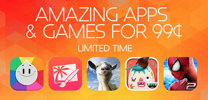 These iOS apps and games cost $0.99 for a limited time: Blek, Goat Simulator, Pixelmator, more