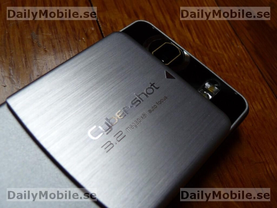 Sony Ericsson C510 appears in hi-quality spy photos