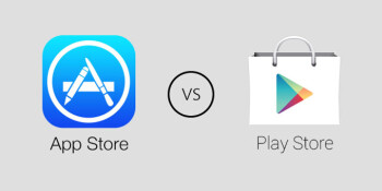 Apple 39 s app store has more than 1 5 million apps now but Play app