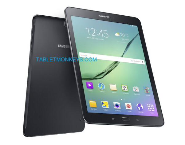 The svelte Samsung Galaxy Tab S2 tablets are expected to be unveiled next week - Samsung Galaxy Tab S2 press render leaks