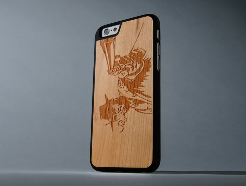 Design custom wooden iPhone case at Carved