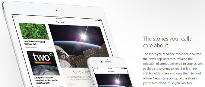 How to get Apple's fresh News aggregator app outside of the US on iOS 9