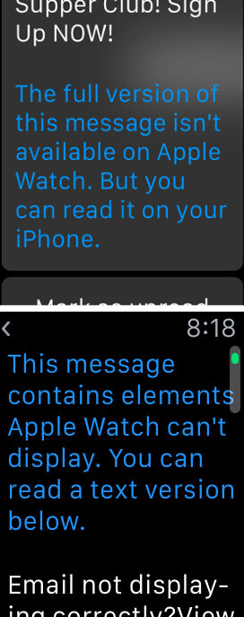 Apple Watch - a hit or miss mail experience - Quickly! Kill the Apple Watch before it lays eggs
