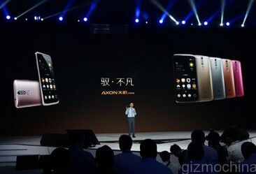 ZTE explains the tech behind the ZTE Axon Mini at today's unveiling - ZTE beats Apple to the punch by being the first to introduce a smartphone with Force Touch