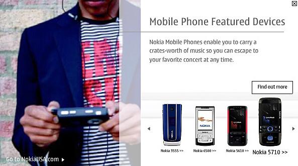 Nokia 5710 XpressMusic leak - Nokia shows the boring 1006, leaks 5710 XpressMusic