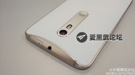 Motorola Moto X purported white and gold color option - The Moto X (2015) might also be available in a stylish new white & gold color combo